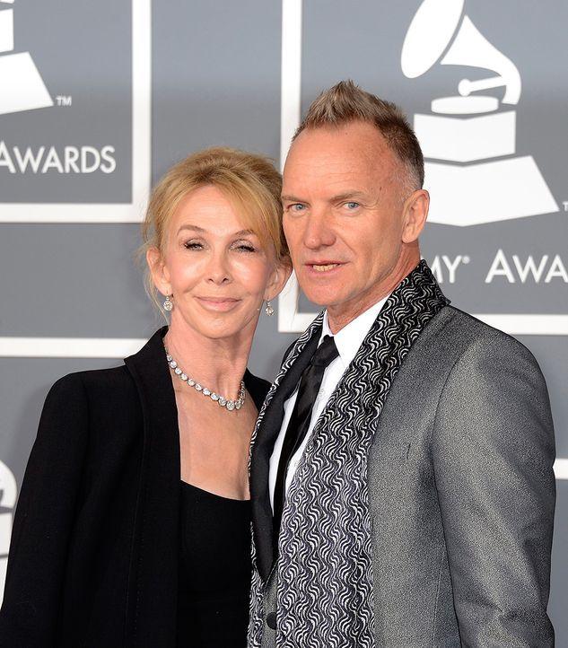 Sting und Trudy Styler - Bildquelle: +++(c) dpa - Bildfunk+++ Verwendung nur in Deutschland