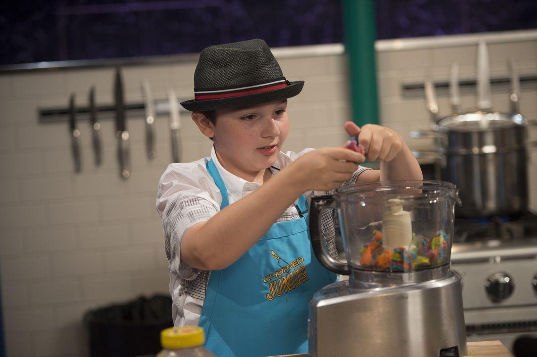 Ben aus New Jersey kocht seitdem er drei Jahre alt ist und verhält sich in der Küche äußerst experimentierfreudig. Kann er damit bei der Jury punkte... - Bildquelle: Scott Gries 2015, Television Food Network, G.P. All Rights Reserved
