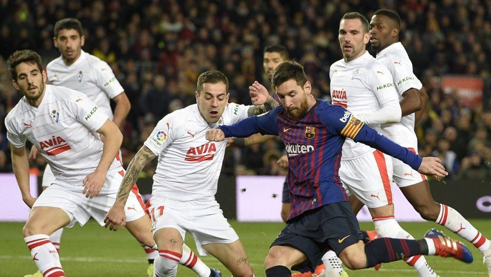 Messi gelang gegen Eibar ein historisches Jubiläumstor - Bildquelle: AFPSIDLLUIS GENE