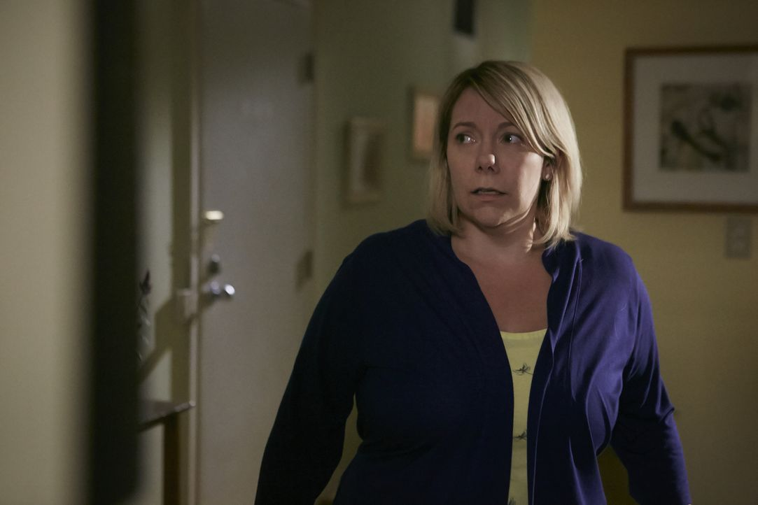 Heather (Cara Pantalone) muss um ihre Leben fürchten, nachdem ihr brutaler Ehemann aus dem Gefängnis entlassen wird ... - Bildquelle: Ian Watson Cineflix 2015