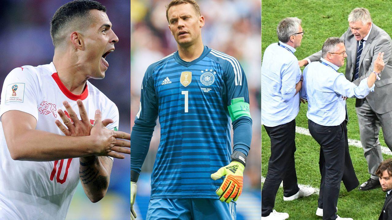 Socken, Getränke, Provokationen: Die Strafen der WM - Bildquelle: Imago