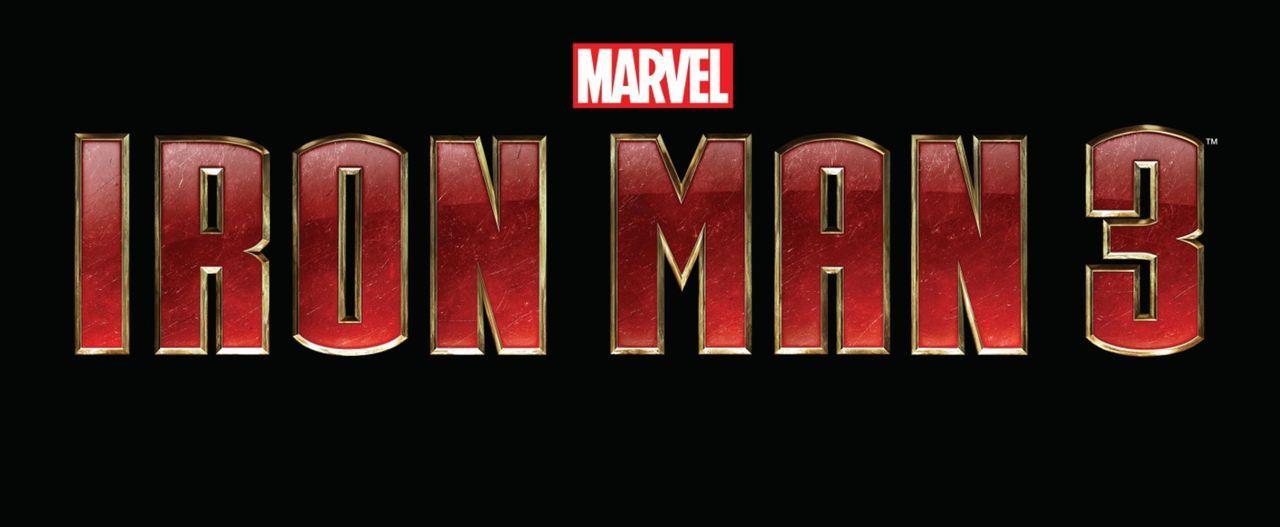 IRON MAN 3 - Logo