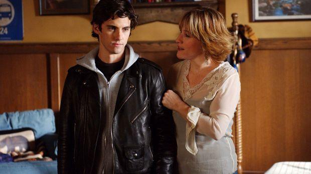 Während Liz (Kathleen Wilhoite, r.) ihrem Bruder Luke ihren neuen Freund vors...
