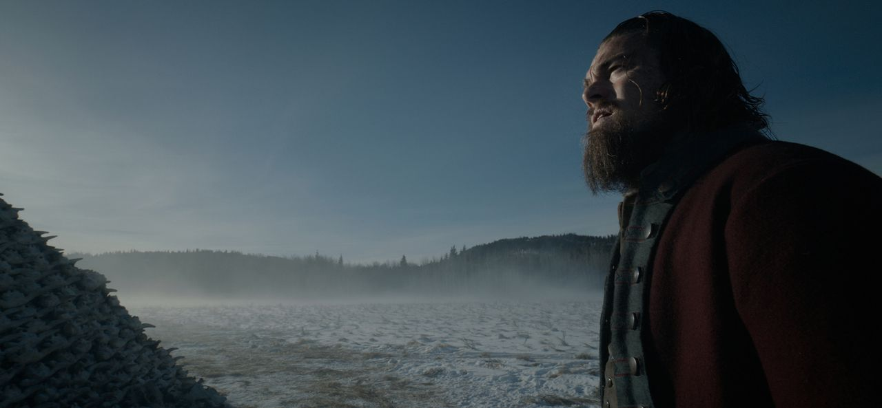 Wird es der verwundete Fallensteller und Pelztier-Jäger Hugh Glass (Leonardo DiCaprio) jemals lebend zu einem rettenden Fort schaffen? - Bildquelle: 2015 Twentieth Century Fox Film Corporation.  All rights reserved.