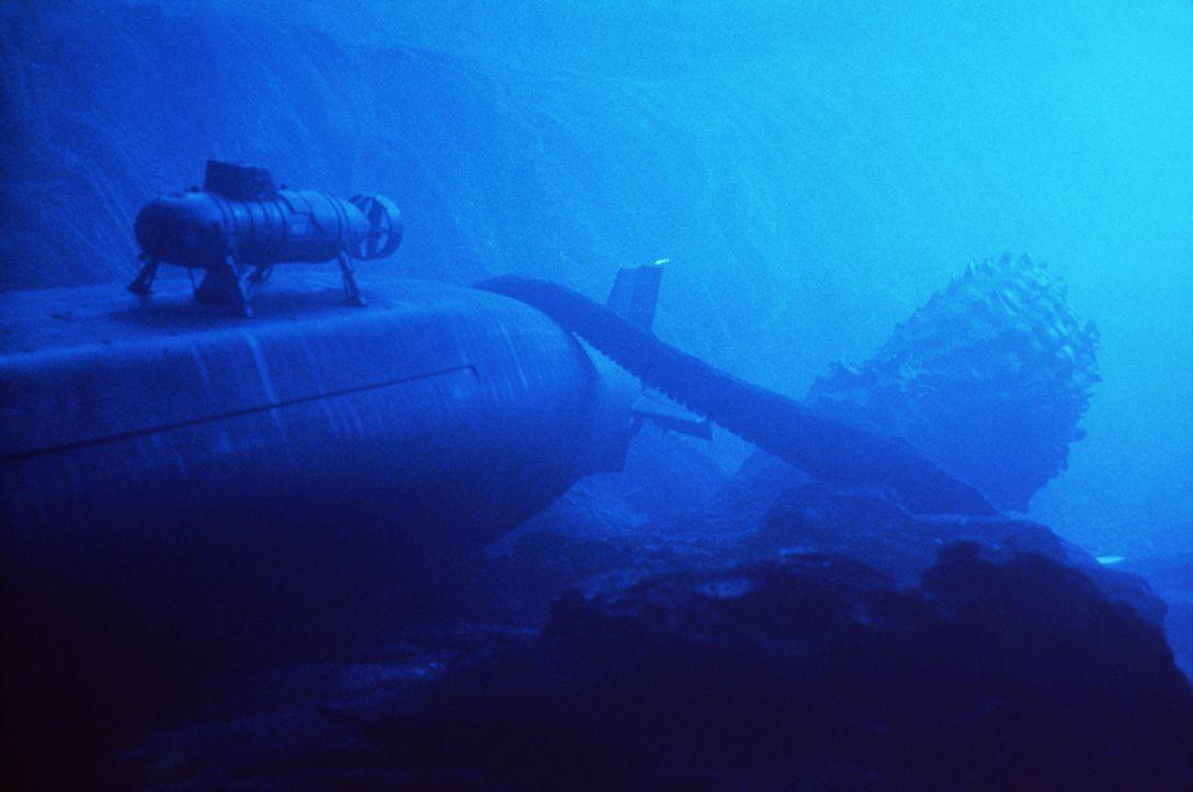 Mitten im Atlantik wird das U-Boot von einem riesigen Tintenfisch angegriffen ... - Bildquelle: Nu Image