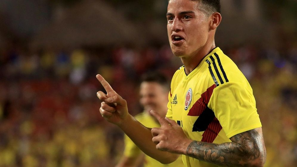 Bayerns James trifft bei Kolumbien-Sieg - Bildquelle: GETTY IMAGES NORTH AMERICAGETTY IMAGES NORTH AMERICASIDMike Ehrmann