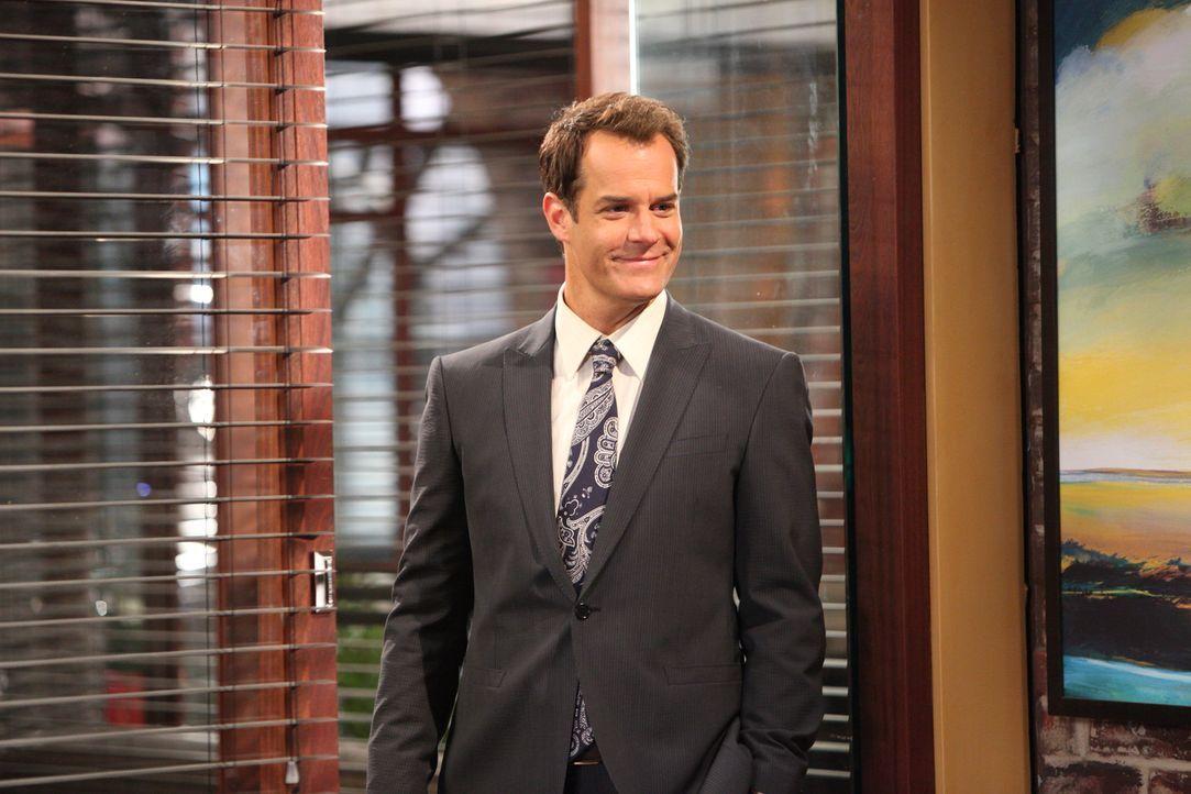 Parker (Josh Stamberg) hofft, dass Gina Blunt, eine alte Bekannte aus Uni-Zeiten, neue Investorin der Kanzlei wird und Luke ablöst. - Bildquelle: 2012 Sony Pictures Television Inc. All Rights Reserved.
