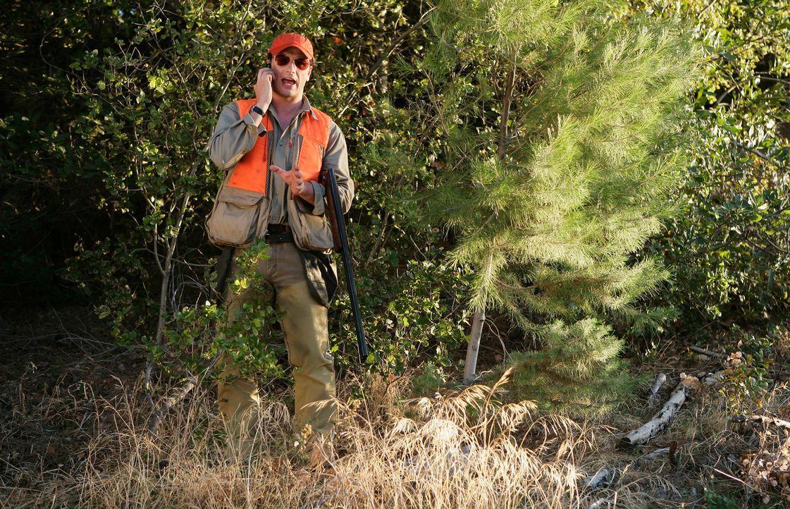 Opfert sich für Robert: In Wirklichkeit verabscheut Kevin (Matthew Rhys) das Jagen ... - Bildquelle: 2008 ABC INC.