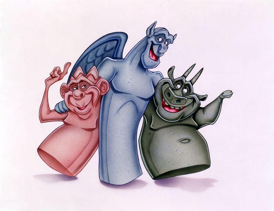Die Chimären haben nichts wie Blödsinnmachen im Sinn ... - Bildquelle: The Walt Disney Company