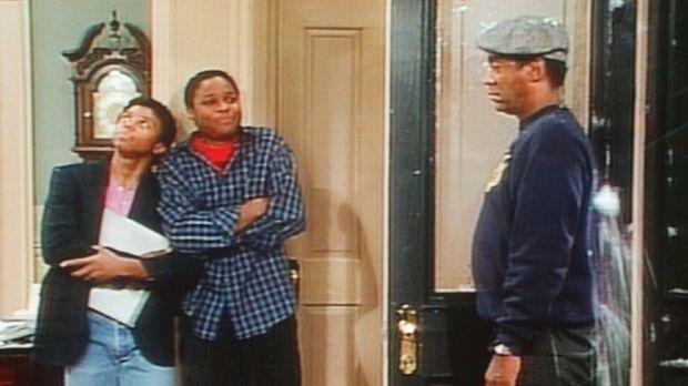 Cliff (Bill Cosby, r.) erinnert sich ungern an eine Geschichte, bei der er vo...