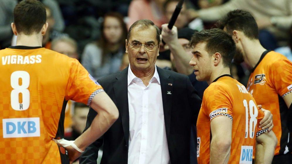 BR Volleys verlieren beim Moculescu-Einstand gegen Kasan - Bildquelle: PIXATHLONPIXATHLONSID