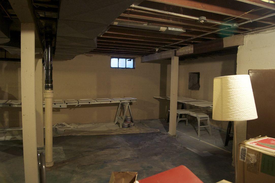 Mit der Hilfe von Josh soll ein Keller in ein absolutes Unterhaltungshighlight verwandelt werden; Wein- und Probierbereich sowie eine ganze Fernsehw... - Bildquelle: 2009, DIY Network/Scripps Networks, LLC