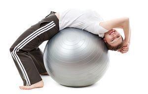 Sport-Fitnessball