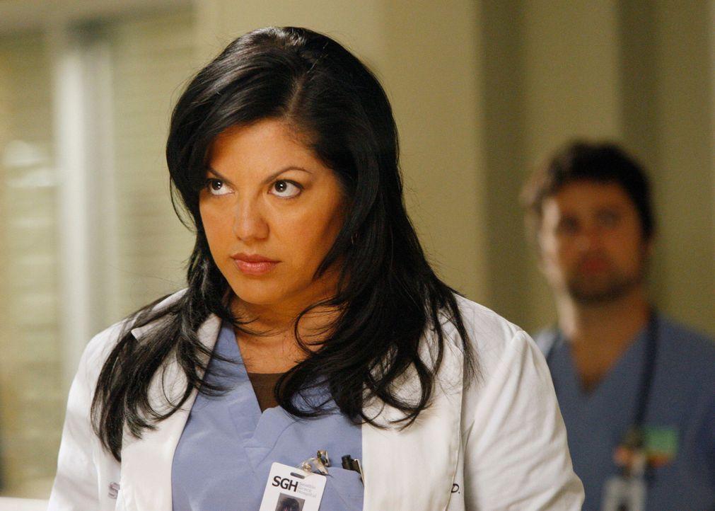 Callie (Sara Ramirez) will mit Mark schlafen, doch die Probleme mit den Krankenschwestern haben ihn nachdenklich werden lassen - und er weist sie ab... - Bildquelle: Touchstone Television