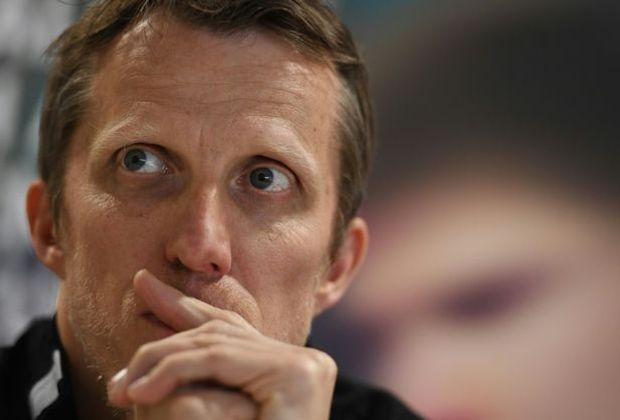 Hochzufrieden: Bundestrainer Jörg Roßkopf