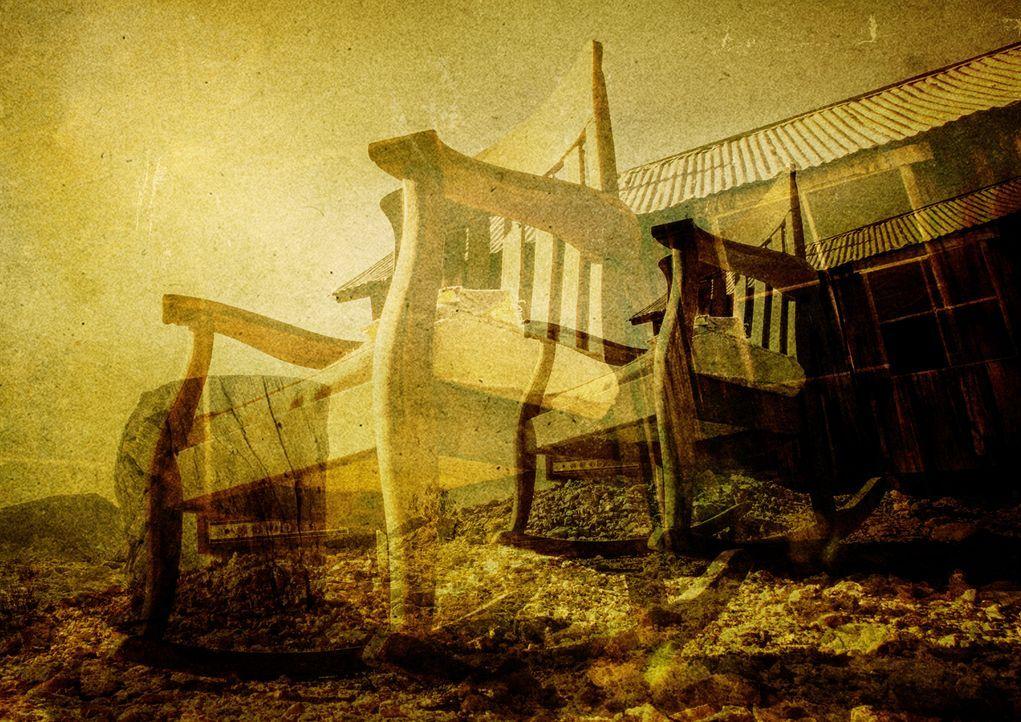 Das geheimnisvolle Labor von Wunder der Wissenschaft befindet sich in einer Hütte in einer verlassenen Stadt mitten in der Wüste. - Bildquelle: BBC 2015