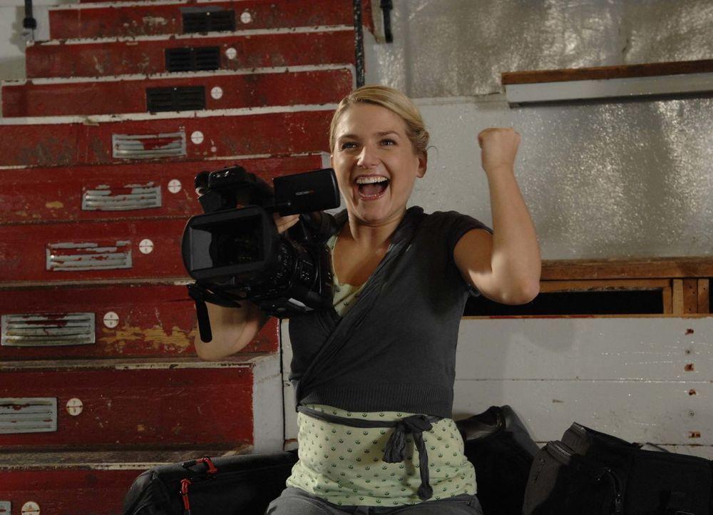 Ist überglücklich: Anna (Jeanette Biedermann) ... - Bildquelle: Claudius Pflug Sat.1