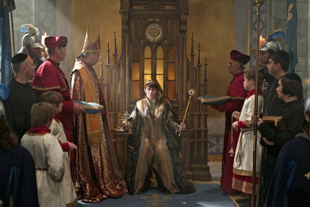 Welche Folgen wird Charles' (Spencer Macpherson, M.) Krönung für Mary haben? - Bildquelle: Sven Frenzel 2016 The CW Network, LLC. All rights reserved.
