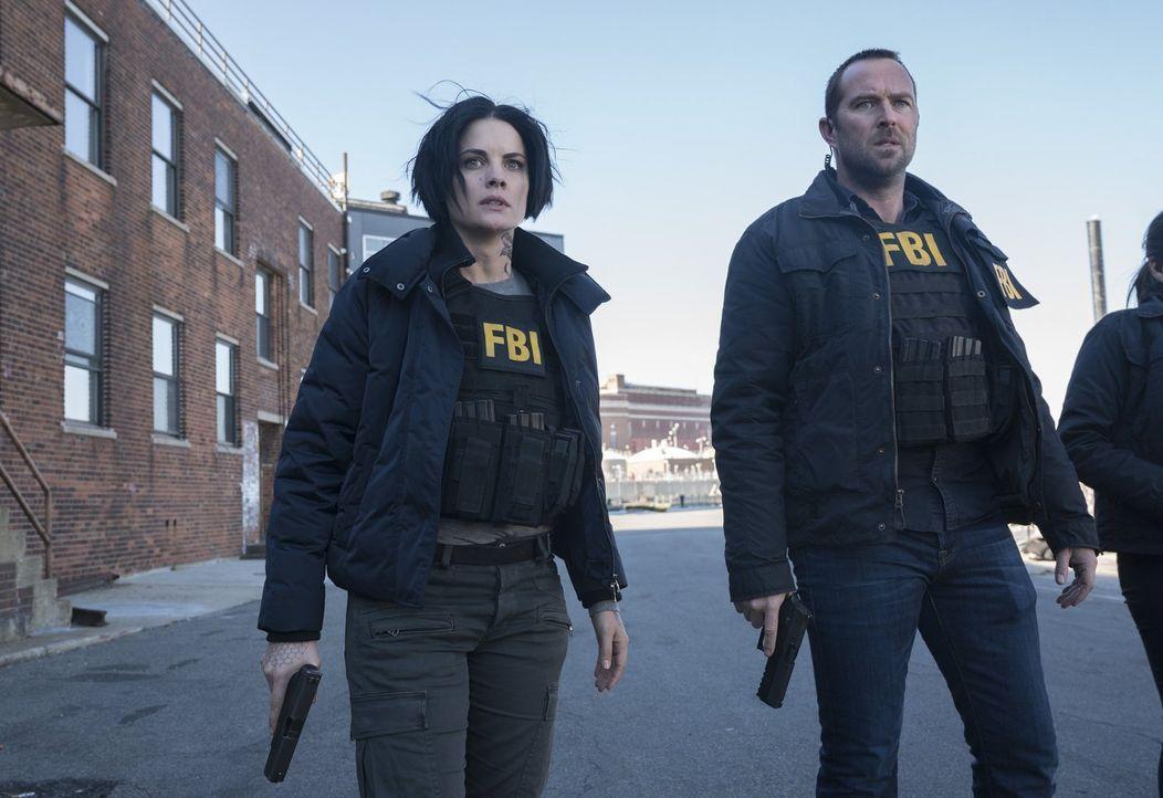 Der Terrorist ist ihnen immer einen Schritt voraus: Weller (Sullivan Stapleton, r.) und Jane (Jaimie Alexander, l.) ... - Bildquelle: Warner Brothers