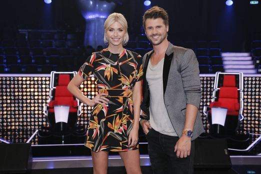 """The Voice of Germany - Moderieren """"The Voice of Germany"""": Lena Gerc..."""