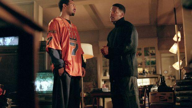 Hofft in seinem Freund Stevie Sanders (Mike Epps, l.) Unterstützung für seine...