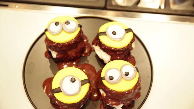 Rezept Laktosefreier Mini Kuchen Als Minion Das Gro E