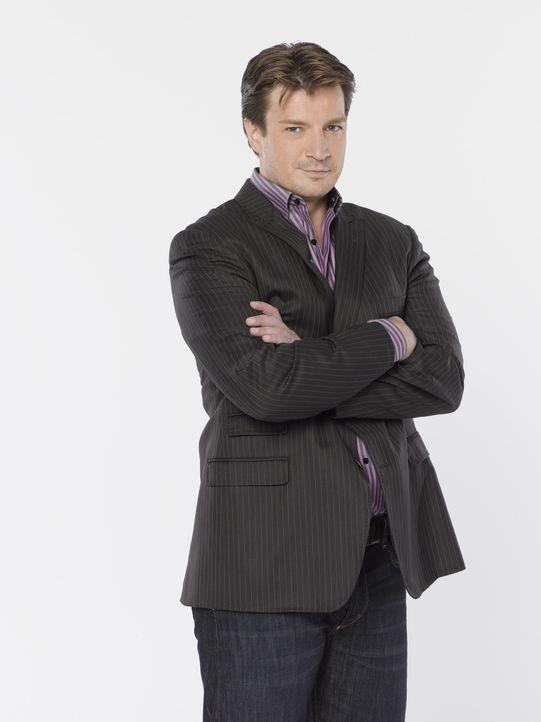 (2. Staffel) - Wenn Richard Castle (Nathan Fillion) sich etwas in den Kopf gesetzt hat, ist es sehr schwer ihn davon abzubringen ... - Bildquelle: ABC Studios