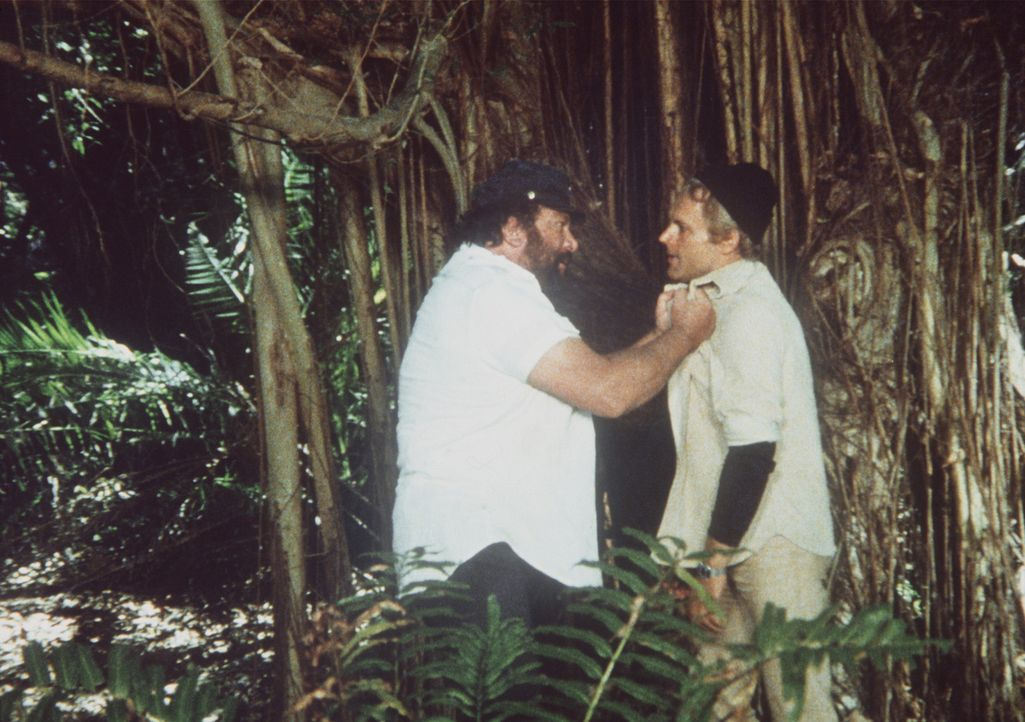 Sind nicht immer einer Meinung: Charlie (Bud Spencer, l.) und Alan (Terence Hill, r.) ...
