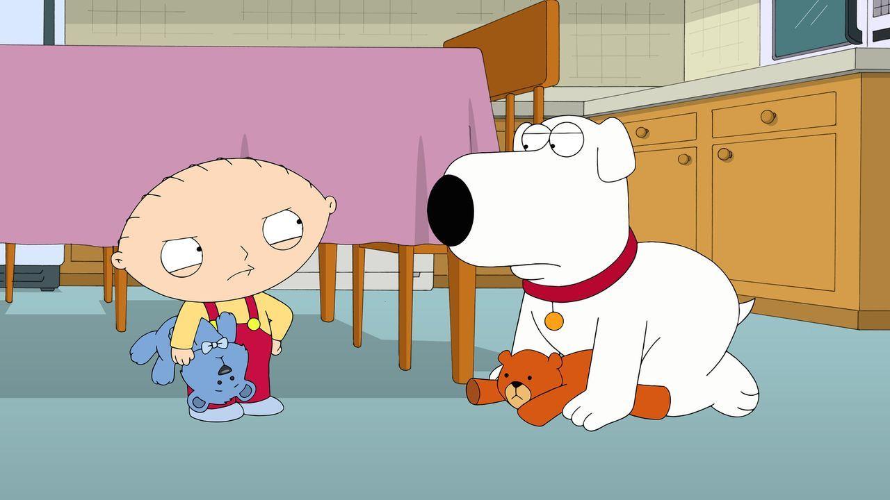 Gute Freunde: Brian (r.) und Stewie (l.) ... - Bildquelle: 2014 Twentieth Century Fox Film Corporation. All rights reserved.