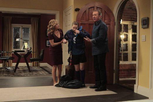 Last Man Standing - Mike (Tim Allen, r.) und Vanessa (Nancy Travis, l.) wolle...