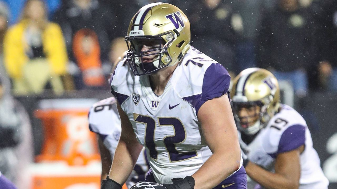 Trey Adams (Offensive Tackle, Washington) - Bildquelle: imago/ZUMA Press