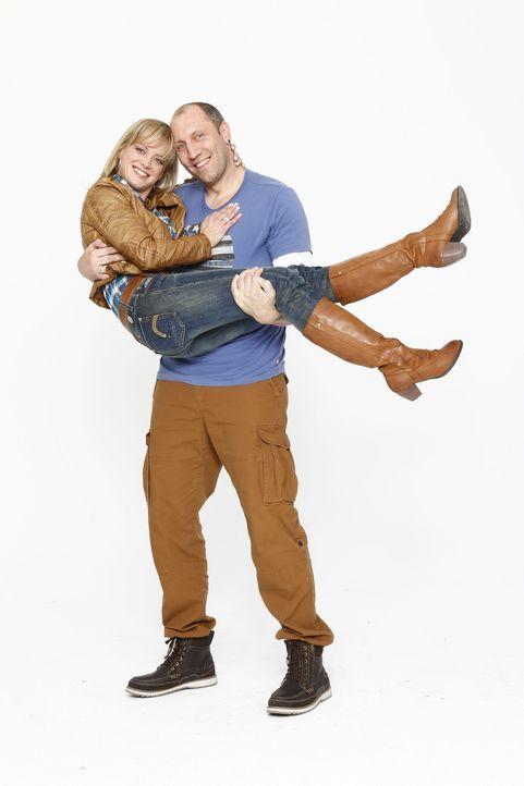 Patchwork Family: Christina Jäger (l.) und Michael Wischnewski (r.) - Bildquelle: Bernd Jaworek SAT.1