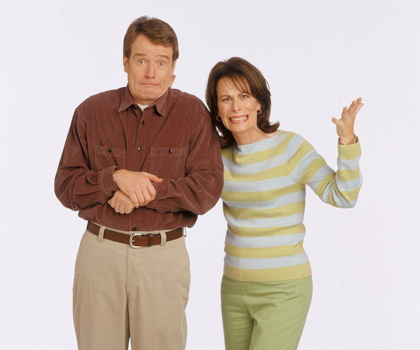 (3. Staffel) - Die Eltern Hal (Bryan Cranston, l.) und Lois (Jane Kaczmarek, r.) werden von ihren Jungs nicht selten zur Verzweiflung getrieben ... - Bildquelle: TM +   Twentieth Century Fox Film Corporation. All Rights Reserved.