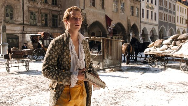Der bislang erfolglose Dichter Johann Goethe (Alexander Fehling) fällt durch...