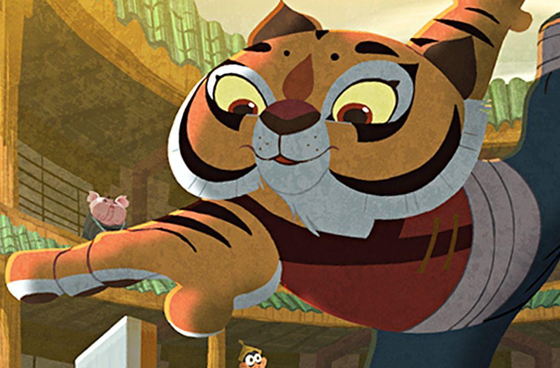 Tigress ist die stärkste und verwegenste der Kung Fu Meister ... - Bildquelle: 2008 DREAMWORKS ANIMATION LLC. ALL RIGHTS RESERVED.