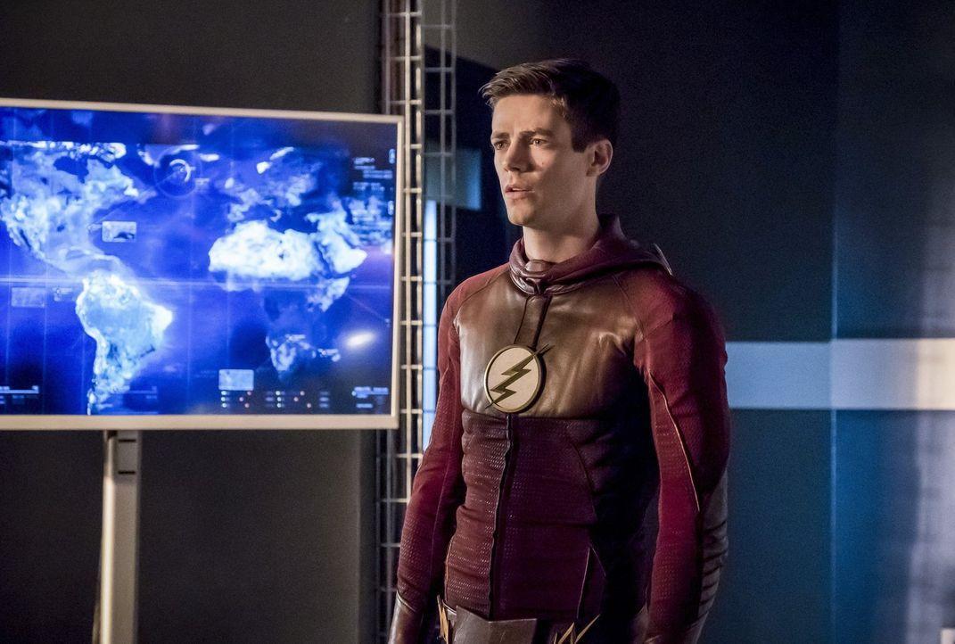 Barry alias The Flash (Grant Gustin) erkennt, dass ihr bisheriges Vorgehen Savitar nicht aufhalten wird, doch ihm bleibt nicht viel Zeit, um nach ei... - Bildquelle: 2016 Warner Bros.
