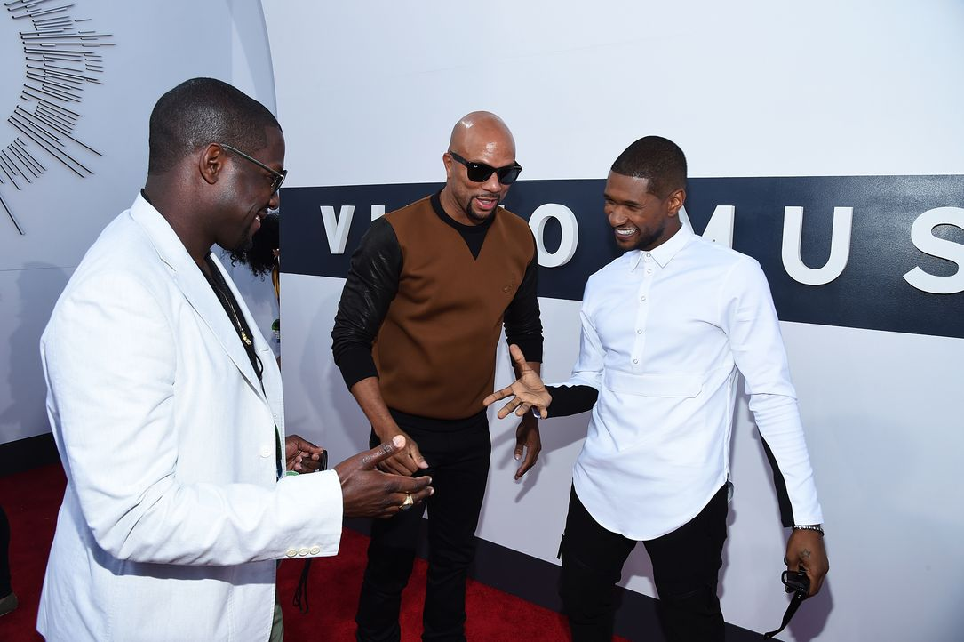 Rapper-Common-Usher-14-08-24-MTV-VMAS-AFP - Bildquelle: AFP