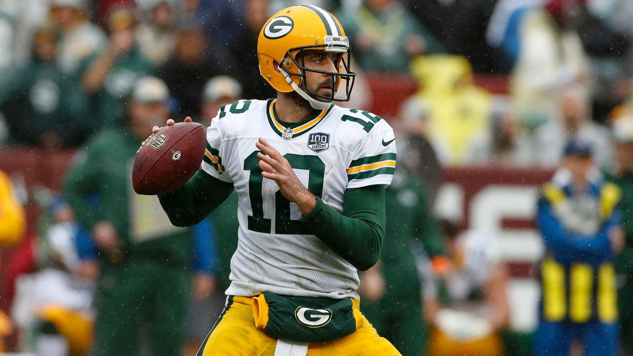 Aaron, Rodgers (Green Bay Packers, Quarterback) - Bildquelle: 2018 Getty Images