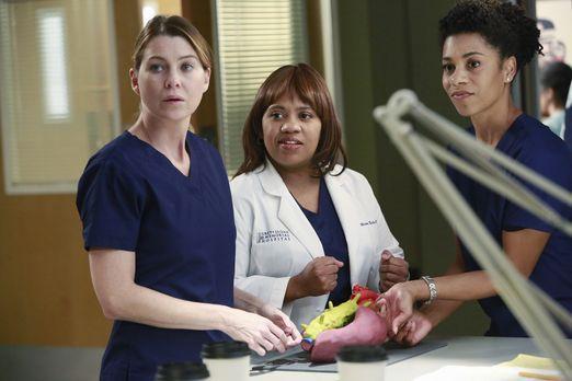 Grey's Anatomy - Während April versucht, optimistisch zu bleiben, als Arizona...