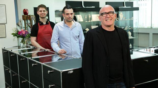 Pfandhaus Hermann_vl. Kai, Arment und Chef Stephan