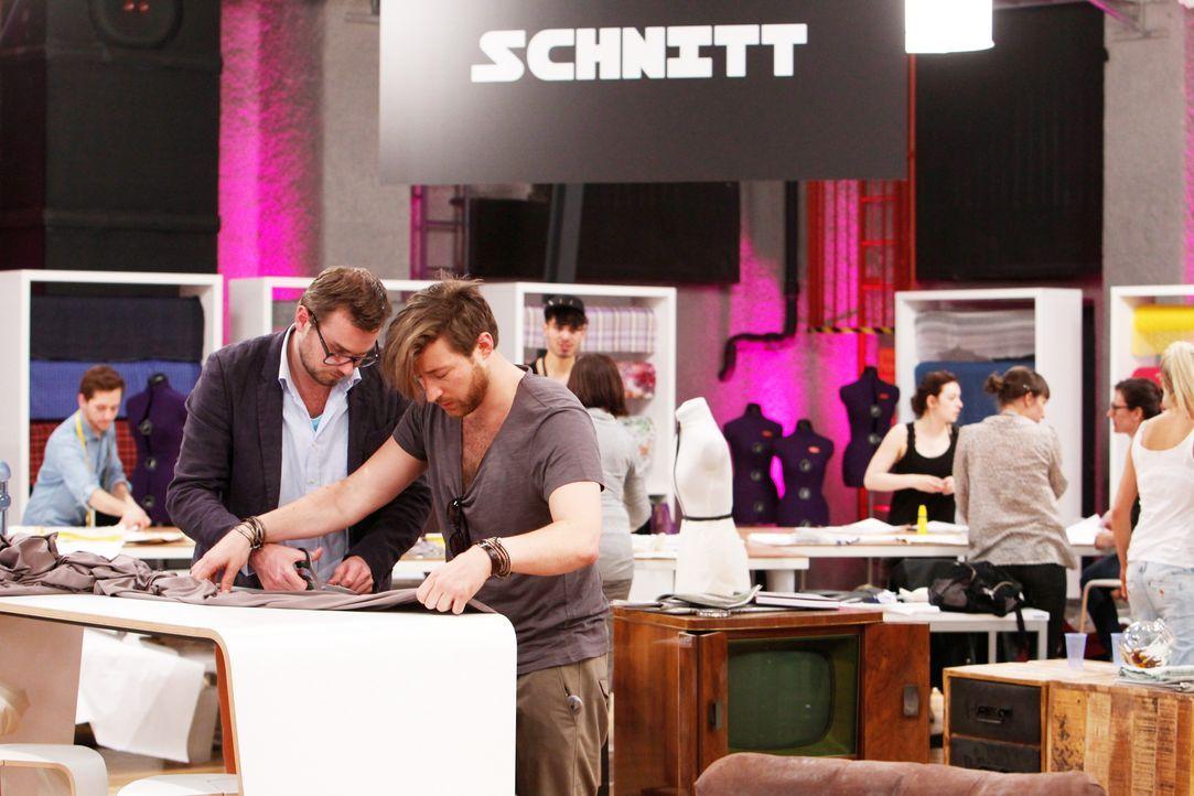 Fashion-Hero-Epi01-Atelier-42-ProSieben-Richard-Huebner - Bildquelle: ProSieben / Richard Huebner