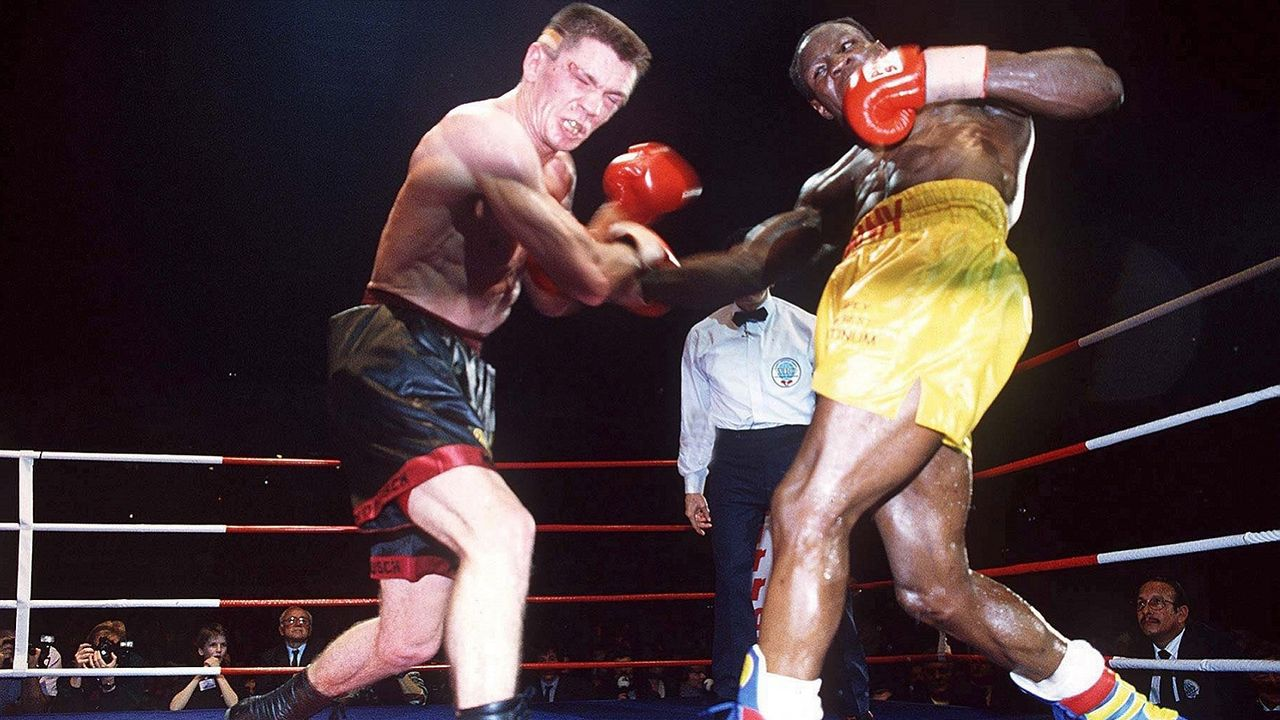 Rocchigiani vs. Chris Eubank Sr., 5. Februar 1994, Berlin - Bildquelle: Getty Images