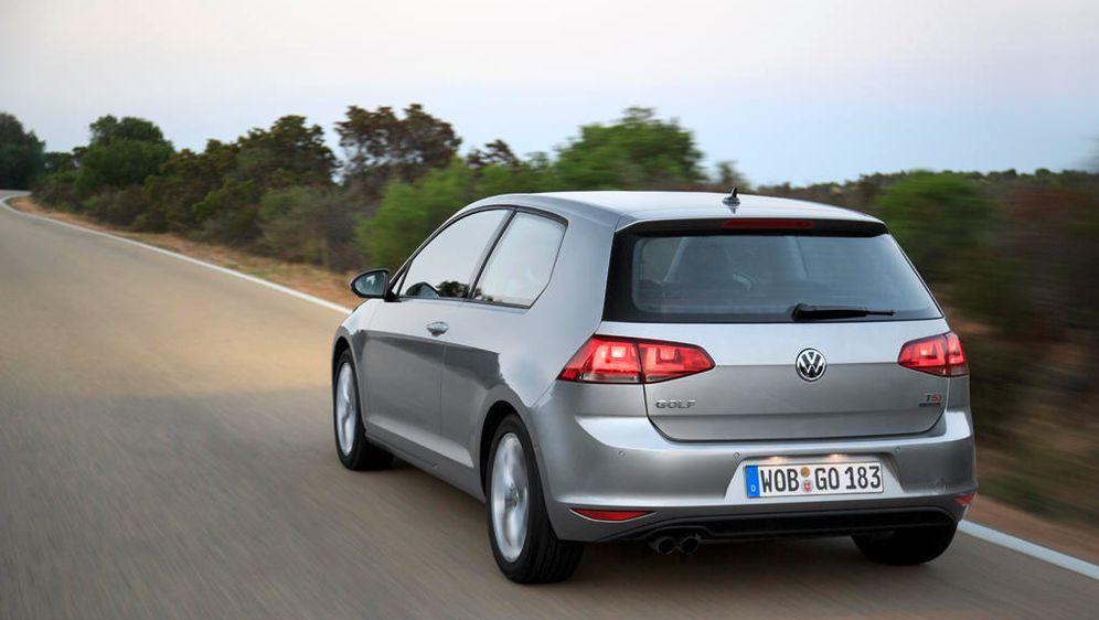 VW Golf VII back - Bildquelle: VW