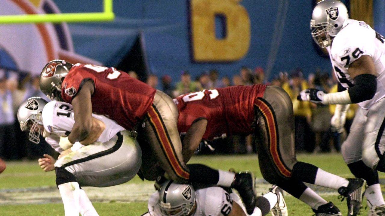 Super Bowl 2003: Tampa Bay Buccaneers (48:21 gegen die Oakland Raiders) - Bildquelle: Imago