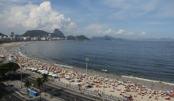 Der Strand an der Copacabana - Bildquelle: kabel eins