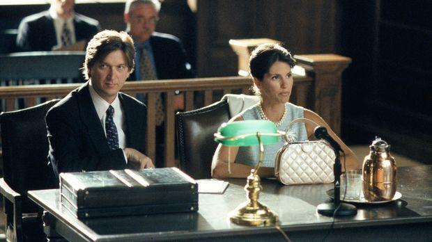 Wird Anwalt Greg Harrod (Don McManus, l.) seiner Mandantin Kimmy Bishop (Jami...