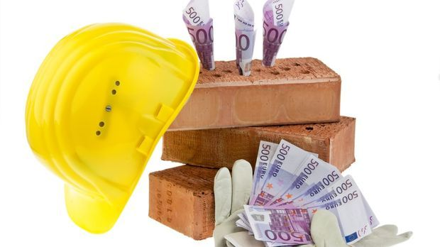 Geld für den Hausbau