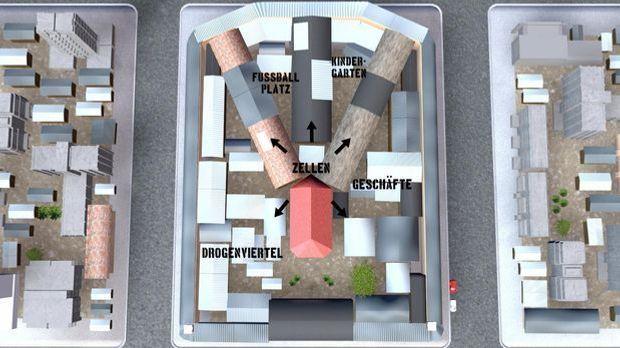 Gefängnisstadt San Pedro