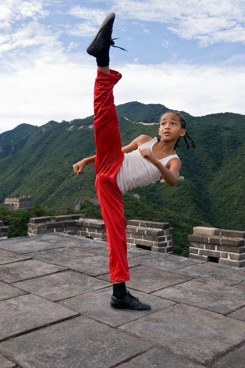 Die Schule in Peking entwickelt sich für den zwölfjährigen Dre (Jaden Smith) zur reinen Hölle, weil ihm der Kung-Fu-versierte tyrannische Raufbo... - Bildquelle: 2010 CPT Holdings, Inc. All Rights Reserved.