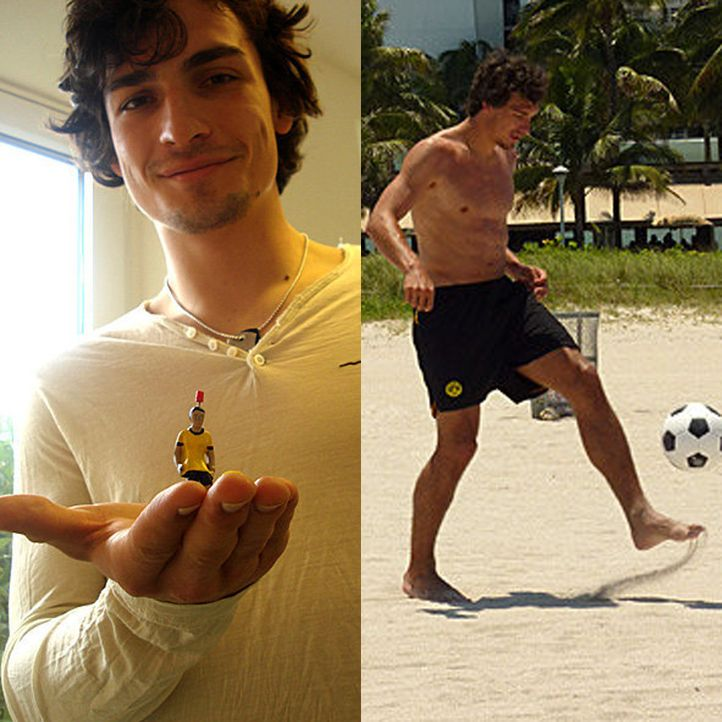 Heißester Spieler der WM: Mats Hummels aus Deutschland - Bildquelle: Facebook/Mats Hummels